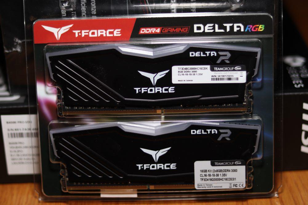 T-Force Delta RGB memory