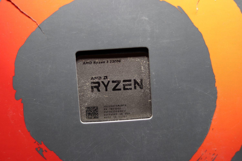 Ryzen 3 2200G APU