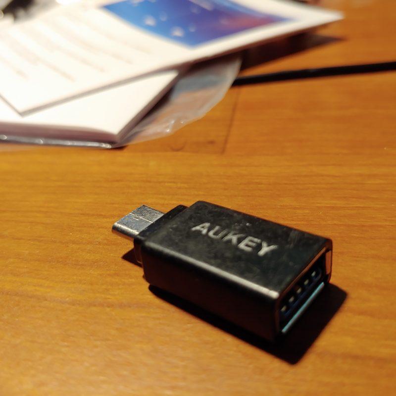 Aukey USB C adapter